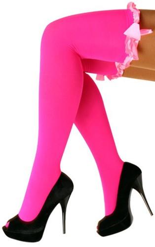Pink Kousen Britney met Pink Strik