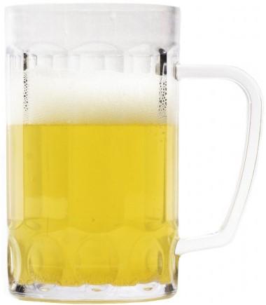 Plastic Bierpul  0,5 liter