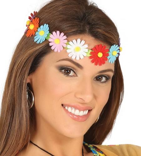 Bloemen Haarband Madelief Multi