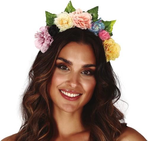 Haarband Bloemen Multi Luxe