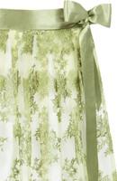 Luxe Trachten Dirndlschort Groen (70cm, tule) -2