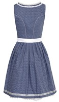 Dirndl Tamilla Blauw Luxe (55cm) -2