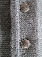 Trachtenvest Grijs Luxe (met mouwen) (100% wol)  -2