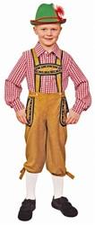 Bruine Tiroler Broek voor jongens