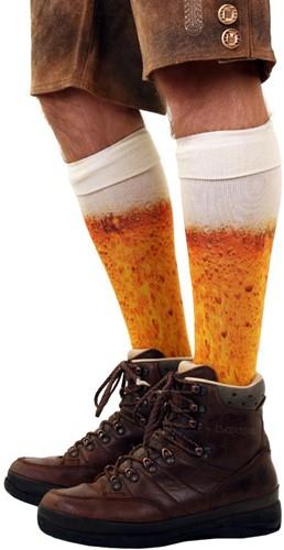 Sokken Bier Print