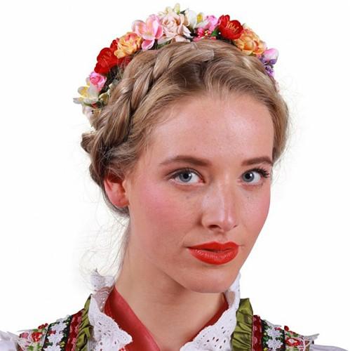 Dirndl Bloemen Haarband  Multi