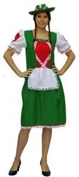 Jurk Tiroler Vrouw