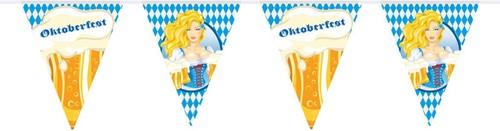 Oktoberfest Vlaggenlijn Bierpullen 10m