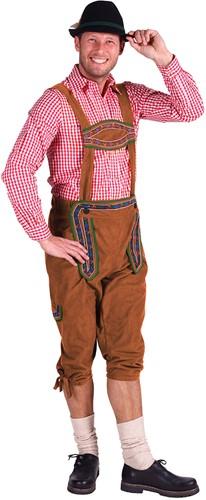 Bruine Tirolerbroek Moritz