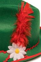 Tiroler Hoed Groen (detail)