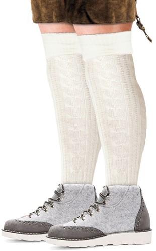 Witte Tiroler Sokken