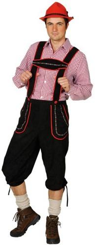 Tiroler Broek Zwart Bayern