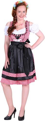 Dirndl Lea Rood/Zwart -2