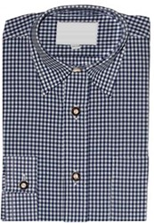 Luxe Tiroler Overhemd Blauw (Kind)