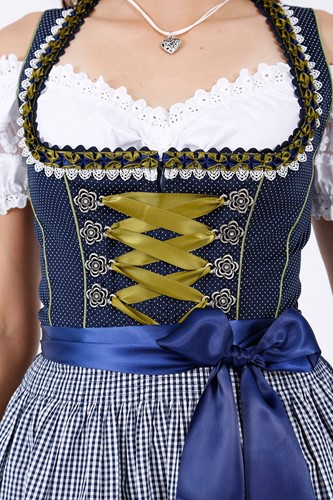 Dirndl Simply Blue (50cm) (detail)
