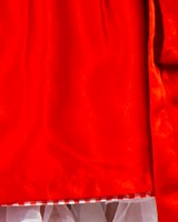 Sexy Trachten Dirndl Zwart/Rood (100% katoen)-3