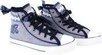 Trachten Sneaker Valentine voor dames (blauw)