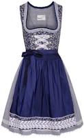Luxe Dirndl Taduna Donkerblauw (55cm)