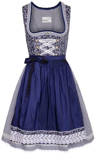 Taduna Donkerblauw Luxe Dirndl (55cm)