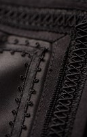 Dirndl Klara Zwart-Goud Luxe (70cm) 2dlg. (detail 3)