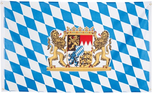 Vlag Oktoberfest Logo Bayern / Beieren (150x90cm)