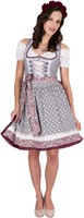 Dirndl Fashion Queen Luxe (60cm)