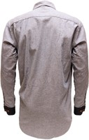 Denim Blauwe Tiroler Overhemd (100% katoen)-2