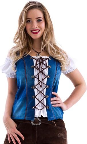 Tiroler Trachten Mieder Jeans Luxe