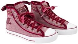 Trachten Sneaker Valentine voor dames (rood)