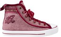 Trachten Sneaker Valentine voor dames (rood)-2