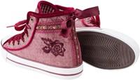 Trachten Sneaker Valentine voor dames (rood)-3