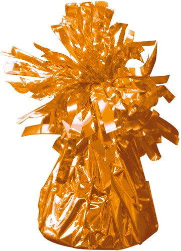 Oranje Ballongewicht Folie