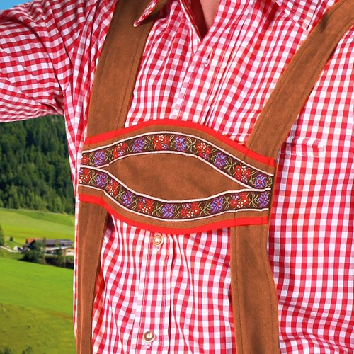 Tirolerbroek Moritz Bruin -2