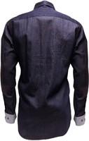 Denim Marine Tiroler Overhemd (100% katoen)-2
