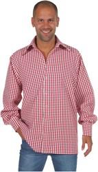 Luxe Rood/Wit Geruit Overhemd