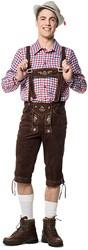 Luxe Rood/Wit/Blauw Tiroler Overhemd