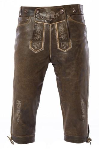 Kniebund Retro Luxe Lederhose (wildleer)