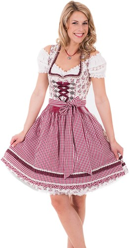 Luxe Dirndl Scattered Blooms (60cm)