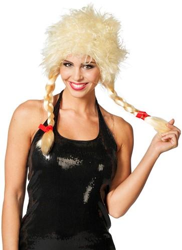 Blonde Greetje Pruik Modern