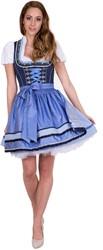 Luxe Dirndljurk Blue Dreams (50cm)