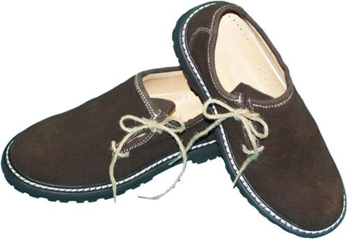 Luxe Donkerbruine Tiroler Schoenen
