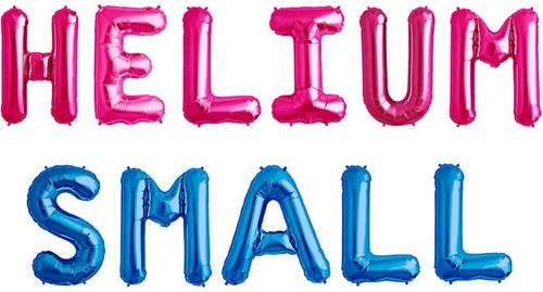 Helium Ballon Small (per stuk)