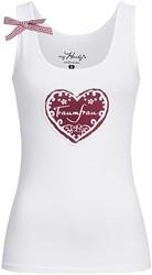 Trachten T-shirt Traumfrau Wit