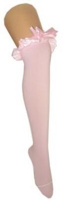 Roze Kousen Britney met Roze Strik