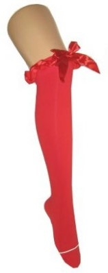 Rode Kousen Britney met Rode Strik