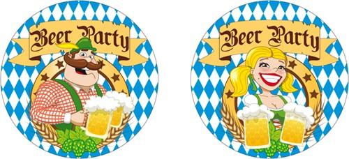 Bierfeest Bierviltjes 10 stuks