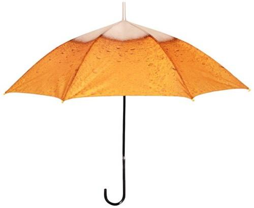 Paraplu met Bier Print