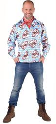 Tiroler Overhemd Alm Hirsch
