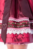 Dirndl Red Star Luxe (50cm) (detail 2)