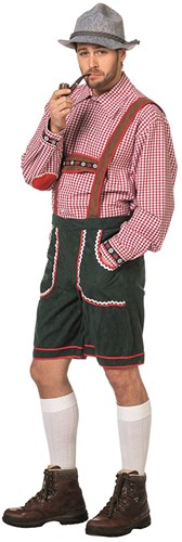 Korte Groene Tiroler Broek